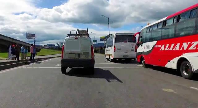 Hoy es día de movilización de transportadores intermunicipales en Colombia