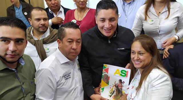 ASI entrega coaval a Giovanni Ramírez para la Alcaldía de Soacha