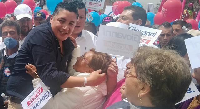 Giovanni Ramírez inscribió su candidatura a la Alcaldía de Soacha