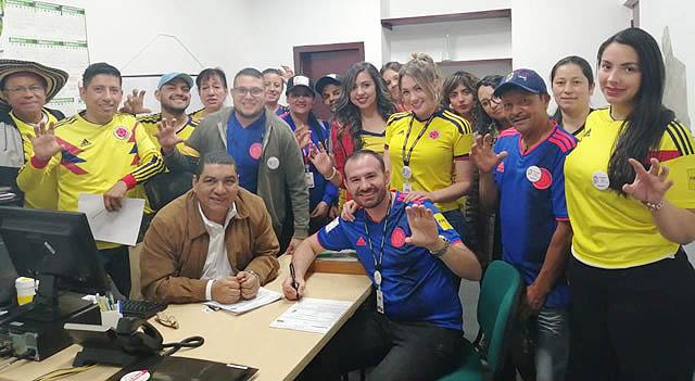"""Con """"Chivatón de la felicidad"""", Andrés Jaramillo inscribió su candidatura"""