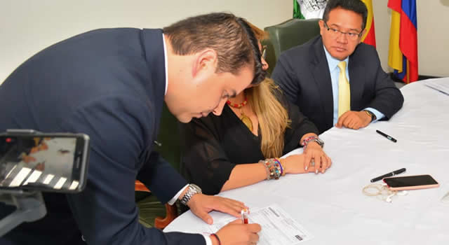 Nicolás García es oficialmente candidato a la Gobernación de Cundinamarca