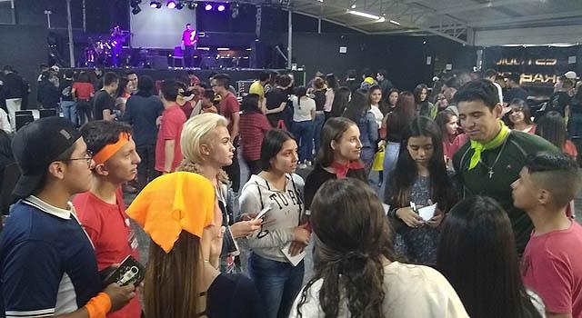 Emoción, fiesta y  talento en el Carpe diem de Jóvenes en Soacha