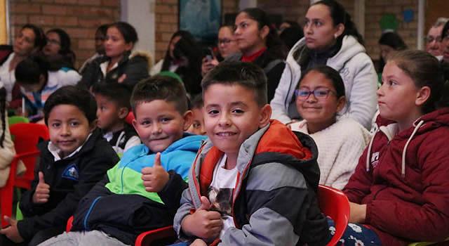 Gobernador rindió cuentas a los niños, niñas, adolescentes y jóvenes del departamento