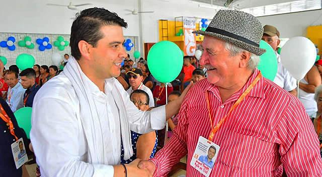 Nicolás García ya ha recorrido la mitad de Cundinamarca