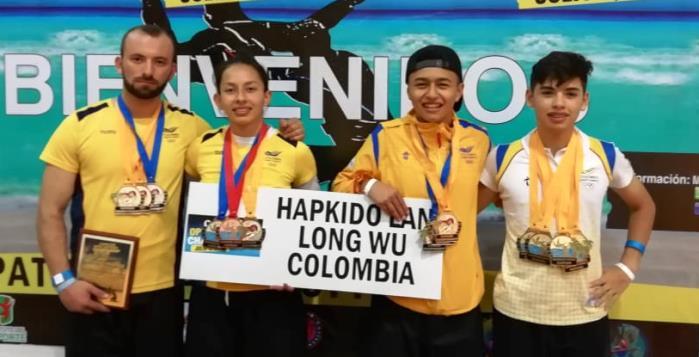 Deportistas soachunos de Hapkido fueron campeones en México
