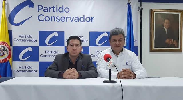 Partido  Conservador garantiza aval a Martín Peñuela para ser candidato a la Alcaldía de Soacha