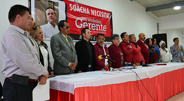 Razones por las que candidatos liberales renunciaron al partido en Soacha