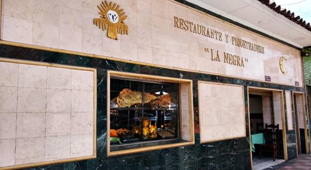 """Cierre del  Restaurante """"La Negra"""" acaba 60 años de historia gastronómica en Soacha"""