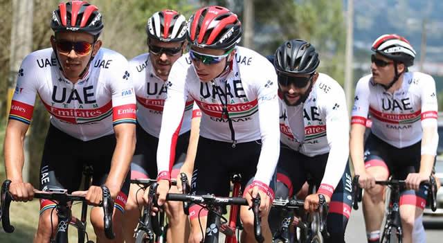 Ciclistas colombianos predominarían en el  Team Emirates para 2020