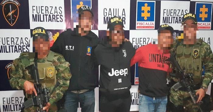 Gaula Militar  libera dos comerciantes secuestrados en Soacha