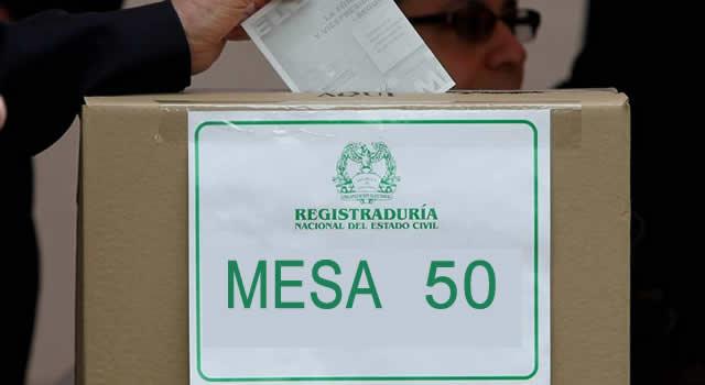 Abiertos puestos de  votación de  Soacha para inscribir cédula