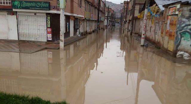 Inundaciones destruyen bienestar de habitantes de un sector de Soacha