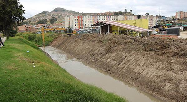 Limpieza y  mantenimiento al río Soacha