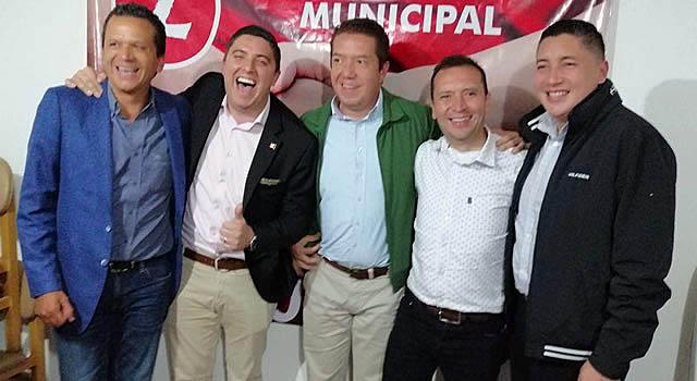Precandidatos a la Alcaldía de Soacha se reunieron en la Casa Liberal