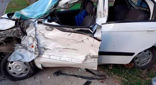 Dos muertos y dos heridos en la vía Facatativá – El Rosal