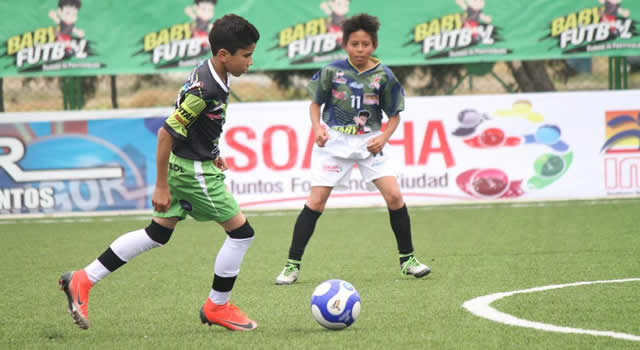 Nueva versión del Baby Fútbol en Soacha