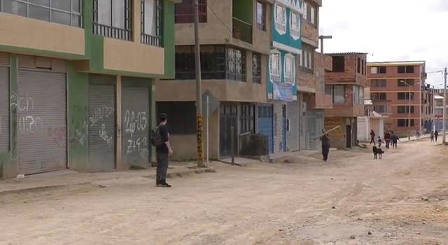 El barrio de Soacha que no ha tenido ayuda de la Alcaldía Municipal