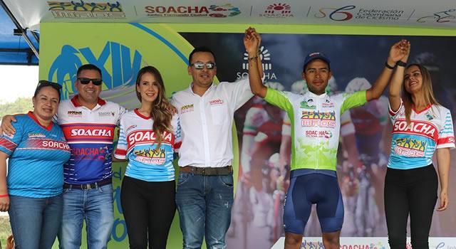 Juan José Carrero es el nuevo líder en la Clásica de Ciclismo de Soacha