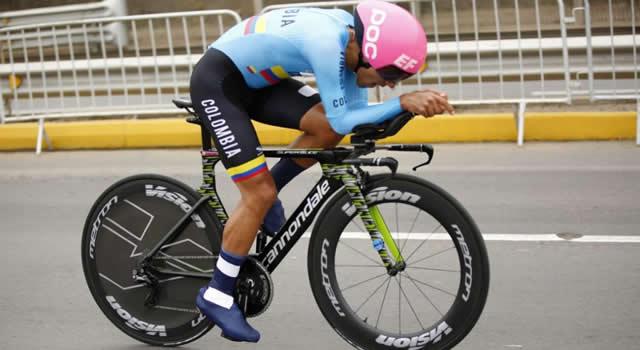 Discreta actuación del soachuno Daniel Felipe Martínez en el Mundial de Ciclismo