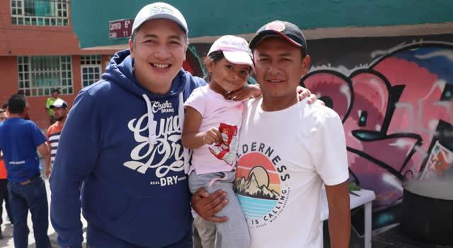 Maratónica jornada del candidato Giovanni Ramírez por Soacha