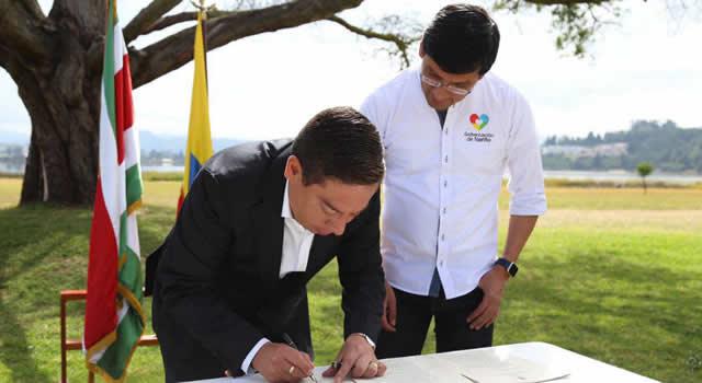 Boyacá y Nariño firman acuerdo para prohibir asbesto y plásticos de un solo uso