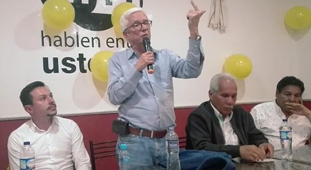 Robledo invita a los soachunos a no votar por 'los mismos con las mismas'
