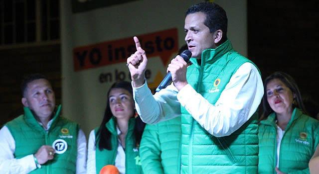 Amplio sector del Partido Alianza Verde se une a Saldarriaga