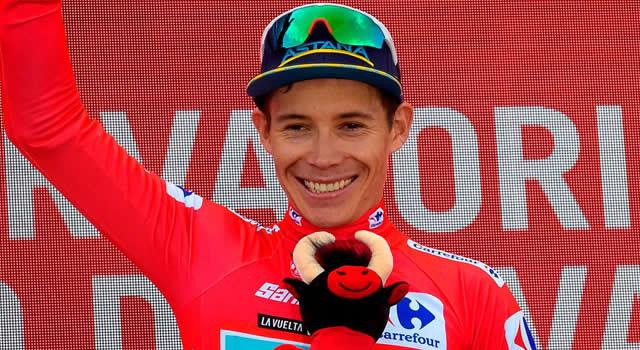 Supermán López, líder, otra vez. Así están los colombianos en la Vuelta a España