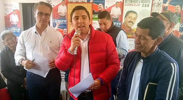 Con firma de pacto por la Ciudadela Sucre, Nicolás Forero lanza su sede política