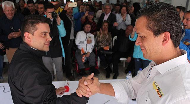 Candidatos a ediles y concejo de Soacha se reúnen con Nicolás García y Juan Carlos Saldarriaga