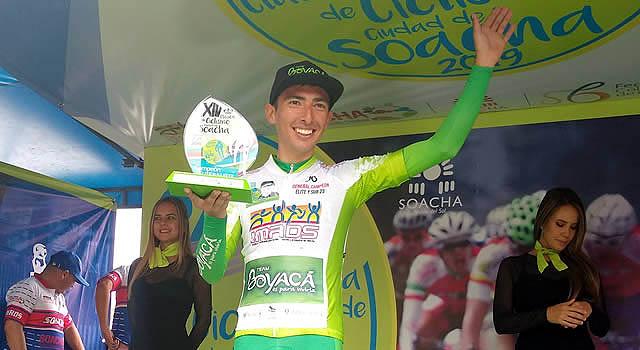 Un boyacense fue el campeón de la Clásica de Ciclismo de Soacha