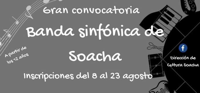 Banda Sinfónica de Soacha abre inscripciones para nuevos integrantes