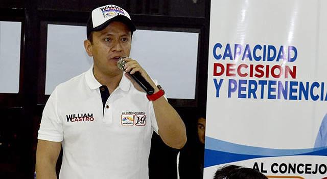 William Castro  lanzó su campaña al Concejo de Soacha