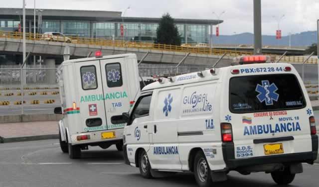Más de 40 ambulancias sancionadas en Bogotá por incumplir normas del servicio