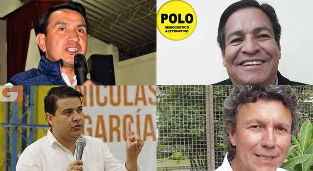 Cuatro candidatos se disputan la Gobernación de Cundinamarca