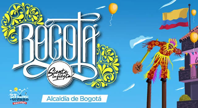 Danza y color en el tradicional desfile de comparsas de Bogotá