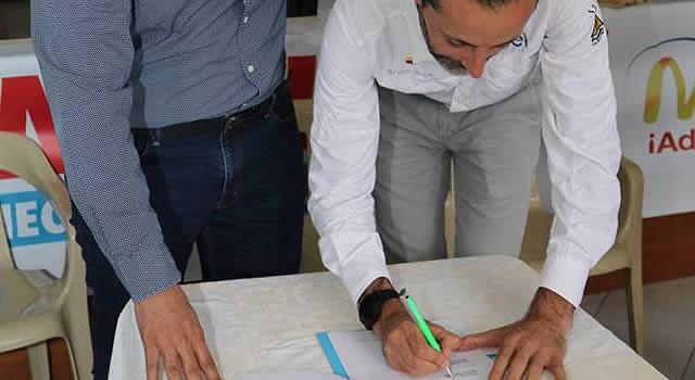 Convenio entre Alcaldía de El Colegio y Enel-Emgesa  para recuperar vías terciarias