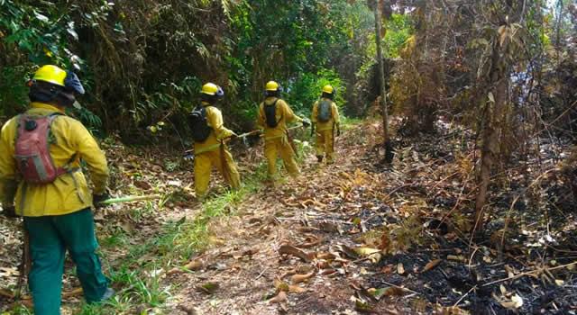 Continúan alertas por incendios forestales en Cundinamarca