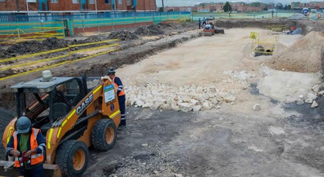 Avanza construcción de vía que beneficiará a 130 barrios del sur-occidente de Bogotá