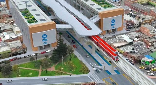 En Bosa se firmó acta de inicio de obras del Metro de Bogotá