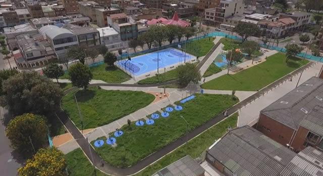 Distrito entrega remodelado el parque Ciudad Berna, en el sur de Bogotá