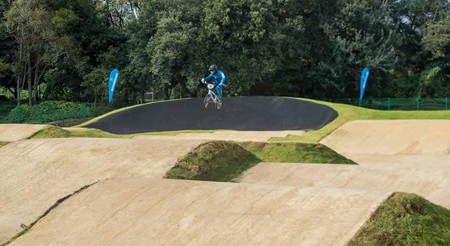 Bogotá estrena pista profesional de BMX