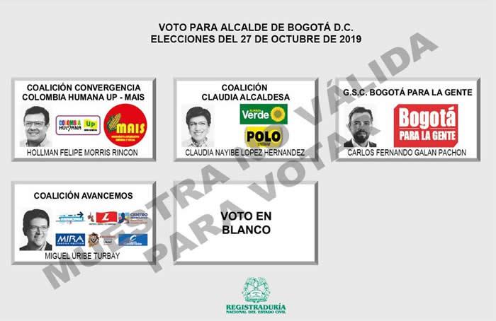 Candidatos a la Alcaldía de Bogotá expondrán sus propuestas