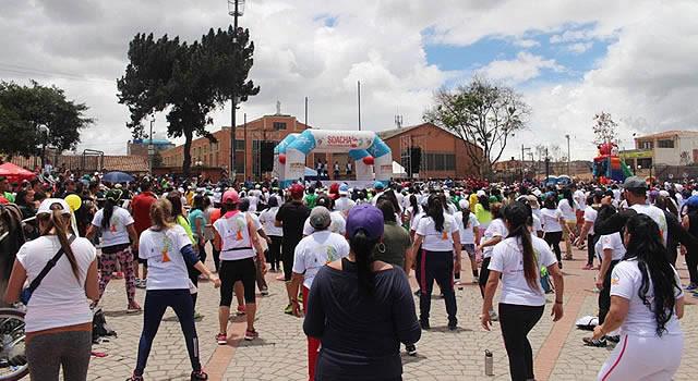 IMRDS se prepara para  la XIX Maratón de Actividad Física Musicalizada en Soacha