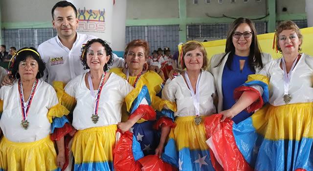 Se realizó en Soacha el  IX Festival de Danzas del Adulto Mayor