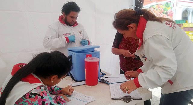 Brigada de salud despierta interés para recuperar parque en barrio de Soacha