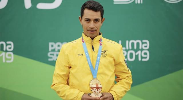 Soachuno Daniel Felipe Martínez, única carta colombiana en los Mundiales de Ciclismo