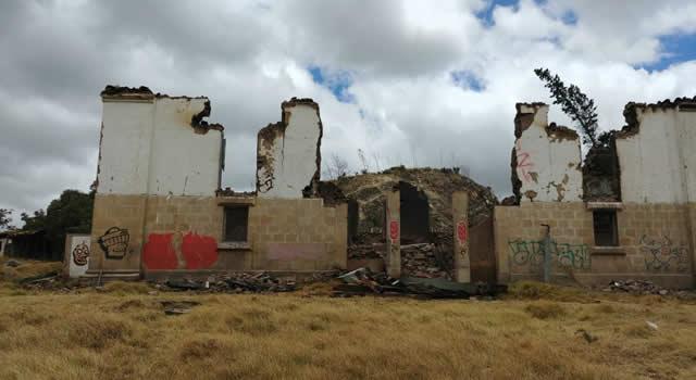Alcaldía solicita restaurar casa de la Hacienda Chucua Vargas