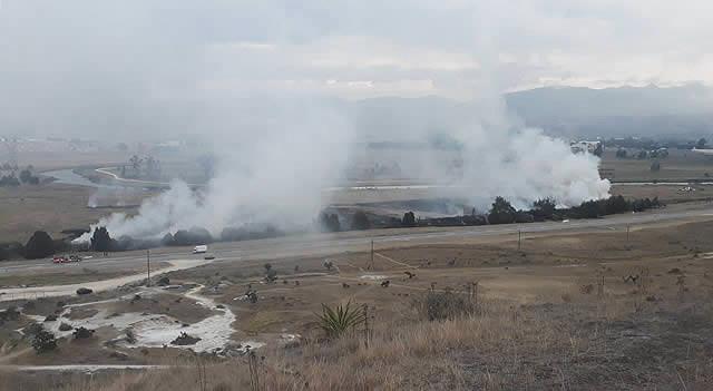 Llamado para prevenir los incendios forestales en Cundinamarca