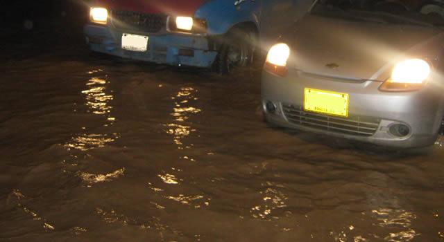 Aguaceros generan daños y emergencias en Soacha